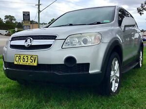 2007 Holden Captiva SX Turbo Diesel Manual 4x4 SUV Wagon Bargain Leumeah Campbelltown Area Preview