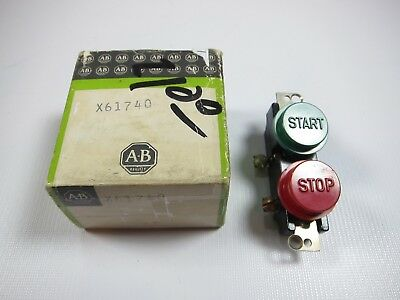 New Allen Bradley X61740 Start Stop Pushbutton Switch