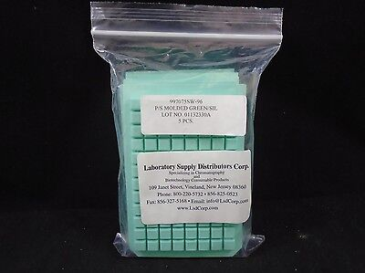 Lab Supply Distributors Silicone Sealing System 96-well Square Pack Of 5