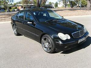 2000 MERCEDES BENZ C200 KOMPRESSOR AVANTGARDE.( SUNROOF ) Greenwith Tea Tree Gully Area Preview
