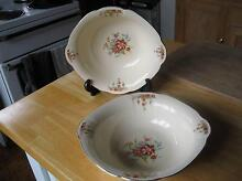 VINTAGE  ALFRED MEAKIN ENGLAND SERVING BOWLS X 2 Daisy Hill Logan Area Preview