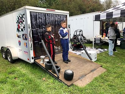8 X 7 Strip Curtain Door Racing Trailer 96 X 84 Race Work Rv Pvc Utility Usa