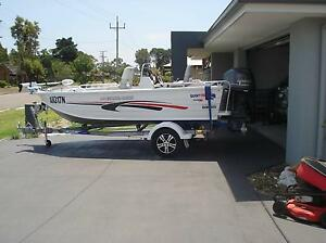 Quintrex 440 Explorer Trophy with Yamaha 50 Four Stroke Tuncurry Great Lakes Area Preview