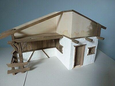 ohne Deko Krippe Almbach Bausatz zum Krippe selber bauen Krippenbausatz