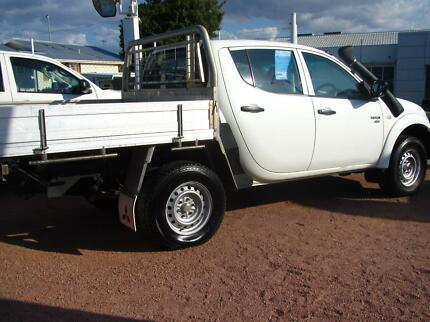 2012 Mitsubishi Triton Dual Cab Turbo Diesel Ute Hermit Park Townsville City Preview