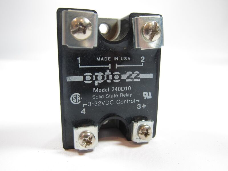OPTO 22 240D10 Solid State Relay 3-32VDC Input