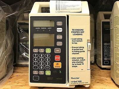 Baxter Flo-gard 6201 Infusion Pump 1 Year Warranty