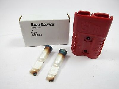 New Total Source Smh Sy6329g1 Red Forklift Battery Connector Kit 175
