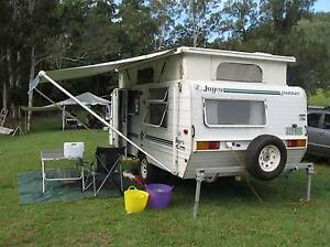Jayco Starcraft Pop Top Ensuite Caravan, 1996 Alloy Frame Clayfield Brisbane North East Preview