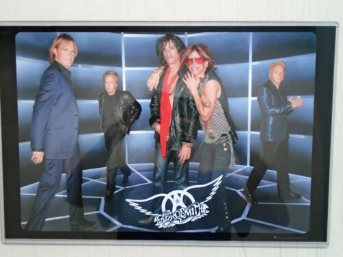 Aerosmith / Orig. Promo Poster / Exc. New  / 11x17 + ( New Sturdy Top-loader )