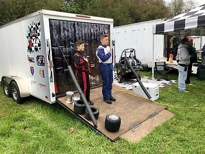 4 X 7 Strip Curtain Door Racing For Utility Trailer 48 X 84 Race Work Rv Pvc
