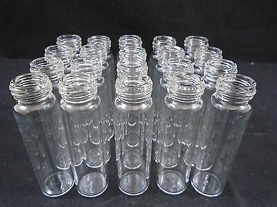 National Scientific Glass 8ml Silanized Clear Storage Vial 15-425 Lot Of 20