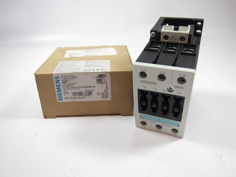 New Siemens 3RT1036-1AL20 Contactor