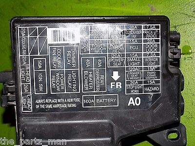 95 accord fuse box 94 95 96 97 accord ex underhood engine fuse box panel oem ebay  94 95 96 97 accord ex underhood engine