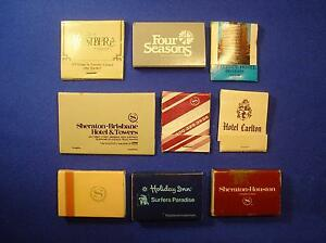 PHILLUMENARIA – VINTAGE c.1980s HOTEL PROMOTIONAL MATCHBOOKS Forest Lake Brisbane South West Preview