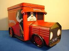 COLLECTABLE SCARCE ARNOTT'S TRUCK-SHAPE BISCUIT TIN c.2005 Forest Lake Brisbane South West Preview