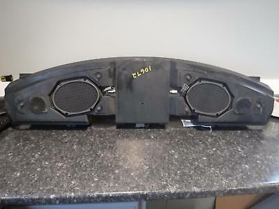 99-04 FORD MUSTANG REAR SPEAKERS WITH BOX AND AMPS