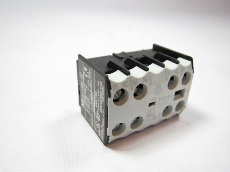 New Klockner Moeller 04 DILE 04DILE Auxiliary Contact Block