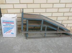 Car Ramps and Screw Jacks  & Roof racks for sale Flagstaff Hill Morphett Vale Area Preview