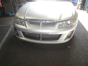 HOLDEN COMMODORE VZ CLUBSPORT FRONT BUMBER BAR SILVER WITH FOGLIG Smithfield Parramatta Area Preview