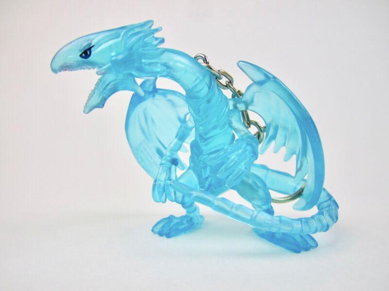 YuGiOh yu-gi-oh Figure Hanger Keychain Series 3 Blue-Eyes White Dragon Clear