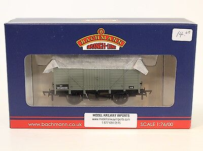 Bachmann OO Scale 37-731A BR Gray 12 Ton Ventilated Van #142220
