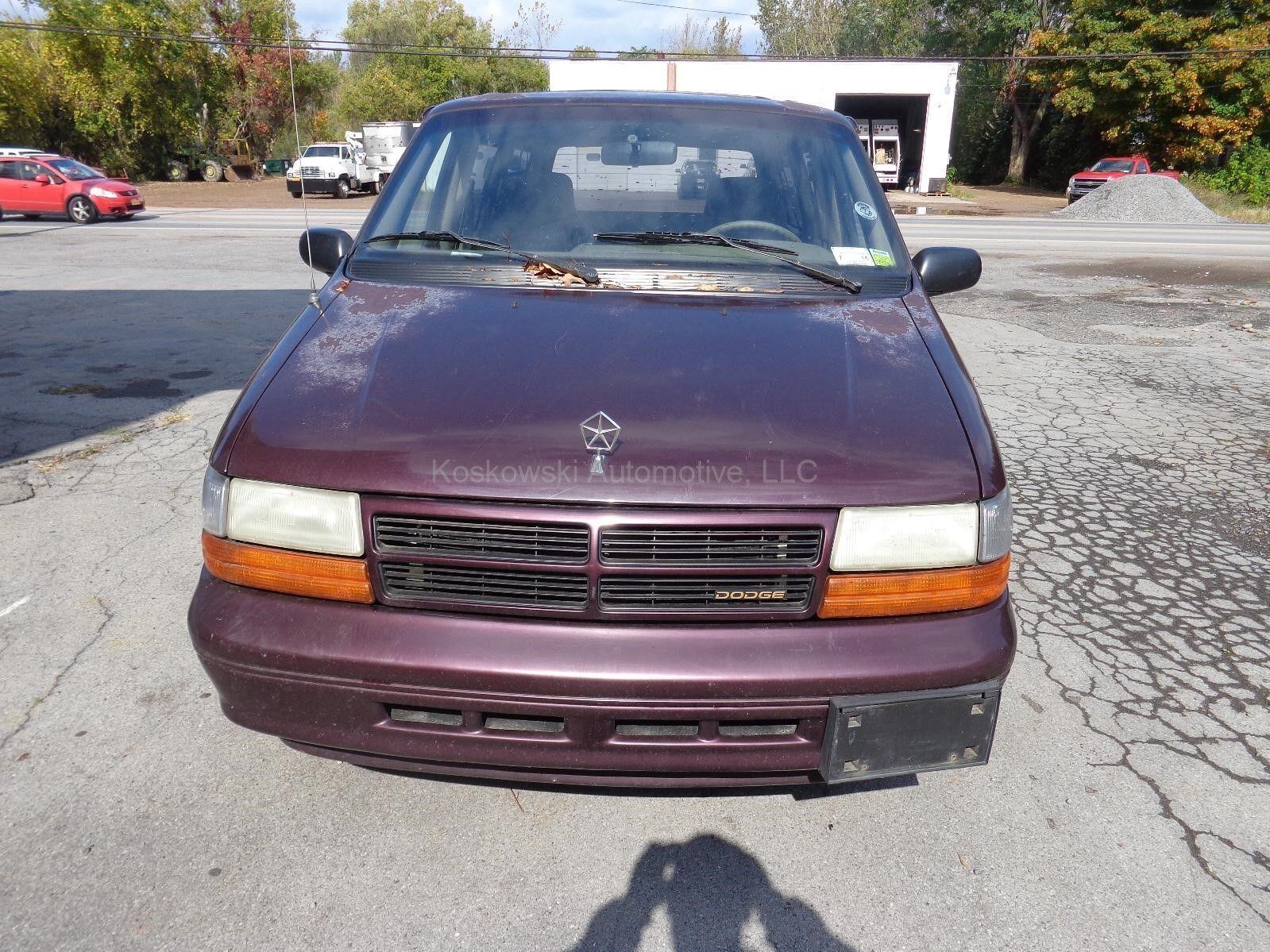 Dodge caravan door handle latch lock linkage rods 1994 left driver side