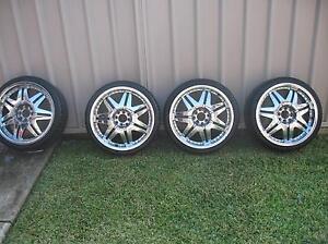 4 x MAAS 18 inch Wheels & Tyres Mount Annan Camden Area Preview