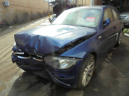 WRECKING 2007 BMW 1 SERIES 2.0 AUTOMATIC HATCHBACK (C22460) Lansvale Liverpool Area Preview