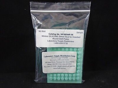 Lab Supply Distributors Silicone Sealing System 96-well Round Pack Of 4
