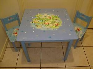 ROYAL DOULTON BUNNYKINS CHILD'S TABLE AND CHAIR SET Forest Lake Brisbane South West Preview