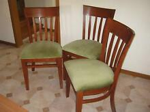 Solid Wooden Dining Chairs Mittagong Bowral Area Preview