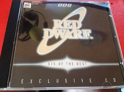 Red Dwarf Exclusive CD - Very Rare - interview with Grant Naylor Six of the Best