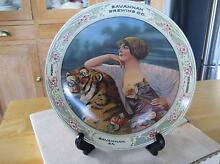 1982 Collector Plate-Savannah Brewing Co. Girl-Beer Tiger-in Box Daisy Hill Logan Area Preview