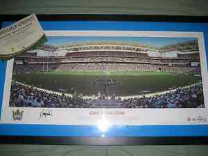 """GOLD COAST TITANS """"CLASH OF THE TITANS"""" SIGNED FRAMED LTD ED Springfield Lakes Ipswich City Preview"""
