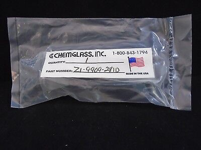 Chemglass Glass 21 X 100mm 1420 Jointed Round Reaction Culture Tube 80mm L