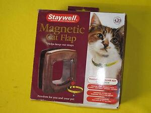 Staywell Magnetic Cat Flap with Manual 4-Way Security lock NEW Ellenbrook Swan Area Preview