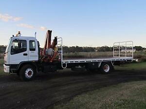 Perfect owner driver hiab truck business with work. Box Hill The Hills District Preview