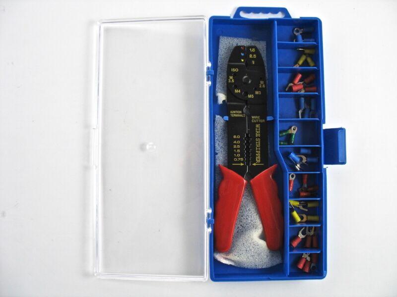 Kabelschuhzange Abisolierzange Crimpzange Drahtschneider Quetschverbinder 20 cm