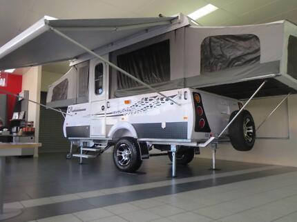 Golf Bush Challenger 1 Electric Lift Family Camper