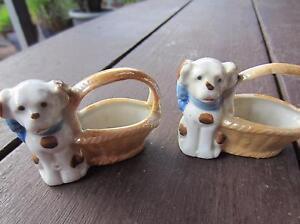 Dog ceramics pair-vintage Hamilton Hill Cockburn Area Preview