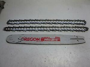 "Oregon 16"" Bar & New Chains To Suit McCulloch / Echo Chainsaws Kingston SE Kingston Area Preview"