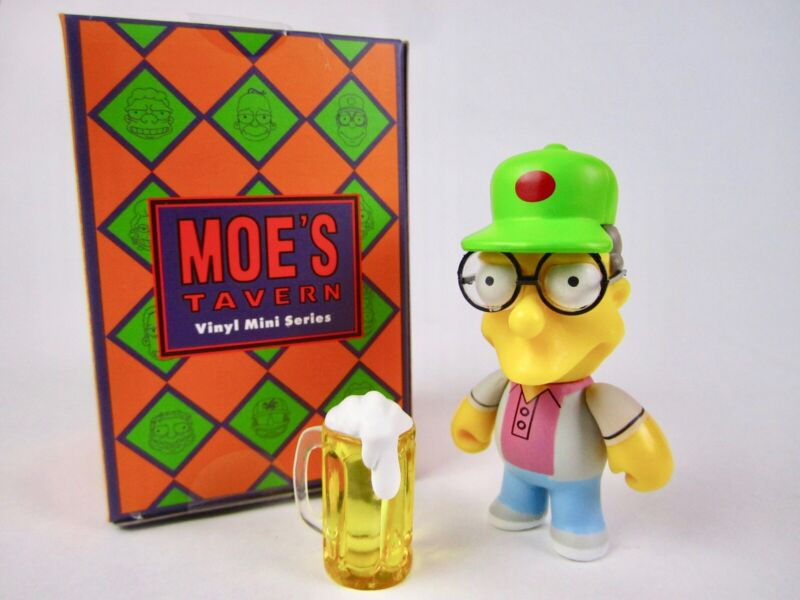 The Simpsons Moe/'s Tavern KidRobot Vinyl Mini Series 2//24 Sam