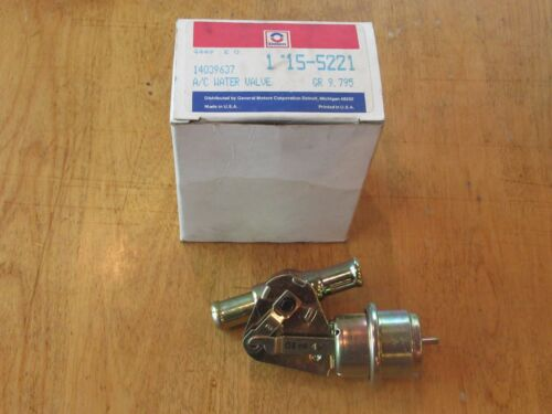 NOS GM 14032007 1975 to 80 Chevrolet Corvette.  Heater Water Control Valve  LT1