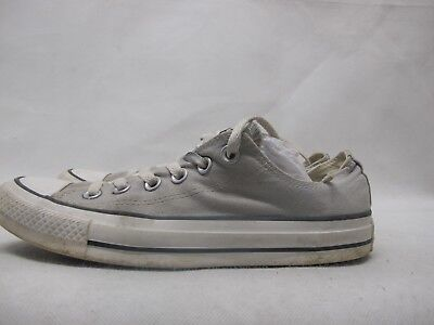 Womens Converse Chuck Taylor All Star Grey Textile Low Top Trainers UK 5.5 EU 38