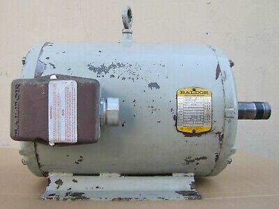 Baldor 20 Hp Electric Motor 3ph 230460v 1760 Rpm Frame 256t 1-58 Dia Shaft
