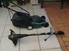 Ozito mower and electric strimmer Victoria Point Redland Area Preview