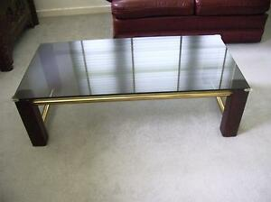 Glass coffee table and 1 matching side table Lane Cove Lane Cove Area Preview