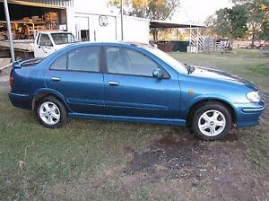 2000 Nissan Pulsar 1.8 Q - Repair or Parts - Near New Tyres Warrill View Ipswich South Preview