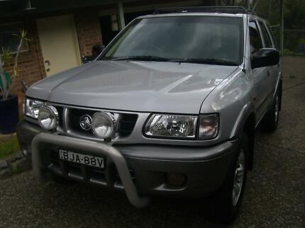 CHEAP 2002 Holden Frontera Wagon North Narooma Eurobodalla Area Preview